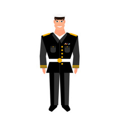 army general happy veterans day design element vector image