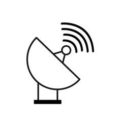 Figure internet web service connection icon vector