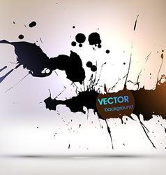 Paint Splash Background vector image vector image