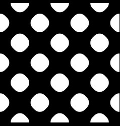 seamless pattern with dotted texture vector image vector image