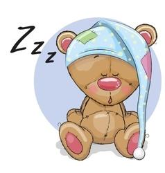 Sleeping Bear vector image vector image