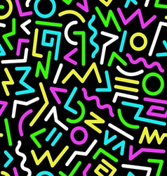 Seamless background 80s38 vector