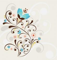 Decorative flower vector