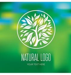 Natiral logo 05 vector