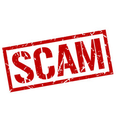Scam stamp vector