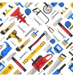 Work tools seamless pattern vector