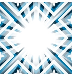 Geometric background stars and diamond shapes vector