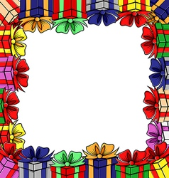 gift frames vector image vector image
