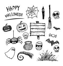 Halloween icon cartoon vector