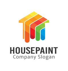 House Paint Design vector image vector image