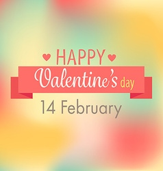 Sweet valentines card vector