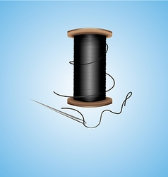 Spool of threads vector