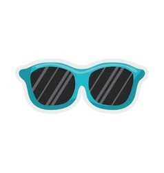 Glasses icon summer design graphic vector