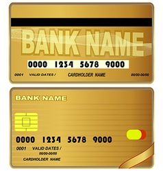 Card credit bank banking icon design payment debi vector image