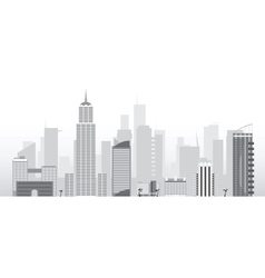 city vector image vector image