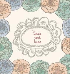 Flowerframes vector image