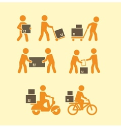 porters icon vector image