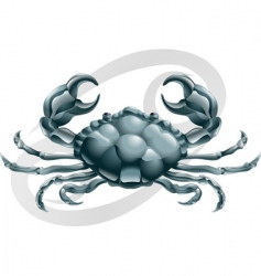 cancer the crab star sign vector image