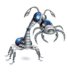 Robot-insect vector