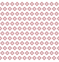 Seamless geometric texture vector image