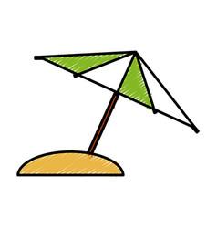 Umbrella icon image vector