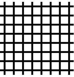 Black and white grid background vector