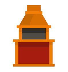 barbecue gas grill icon isolated vector image vector image