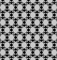 Seamless pattern on oriental motif vector image vector image