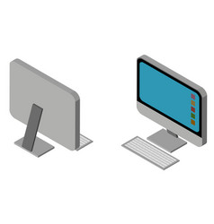 3d design for personal computer vector