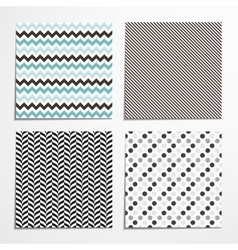 Collections of seamless patterns vector