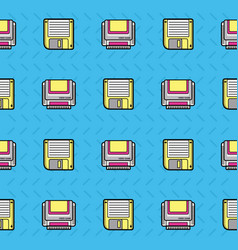 90s background style vector image vector image