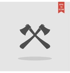 The ax icon axe symbol vector