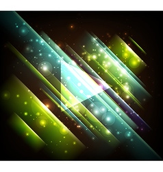 Abstract Design with Triangles vector image vector image