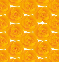 Background texture of yellow cute flowers vector