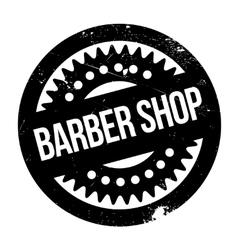 Barber shop stamp vector image vector image
