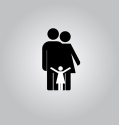 family icon in trendy vector image vector image