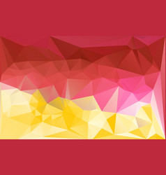 Lowpoly pattern bright vector