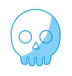 skull icon image vector image