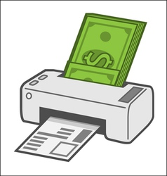Printing costs vector