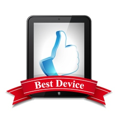 Best Device vector image