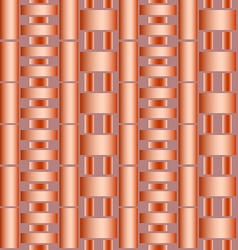 Seamless texture of pipes vector image