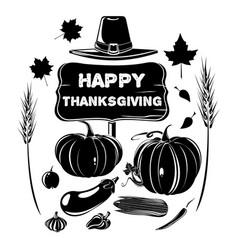 thanksgiving design harvest festival vector image