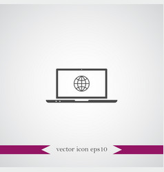 wireless icon simple vector image vector image