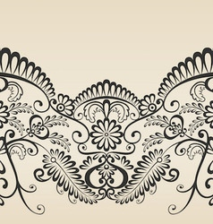 Ornament decoration vector