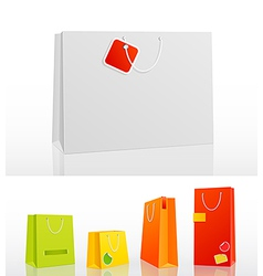 bag 5 sizes vector image vector image