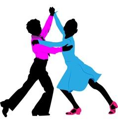 children dancing vector image vector image