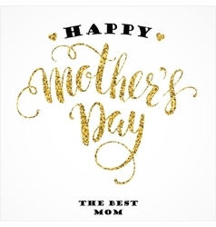 Mothers day lettering design vector