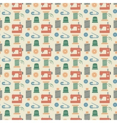 Needlework seamless pattern vector