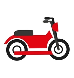 Motorcycle isolated icon design vector