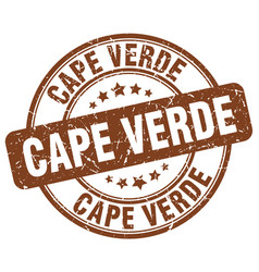 Cape verde stamp vector